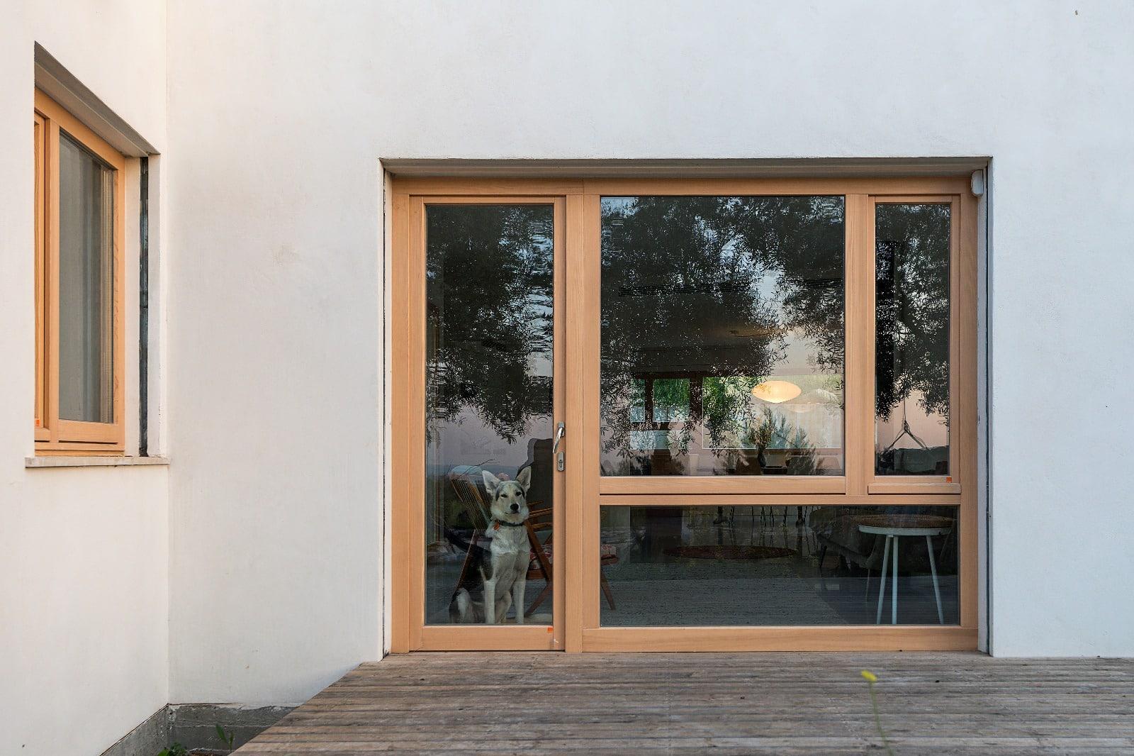 חלון עץ אקולוגי - קונטור חלונות נתניה